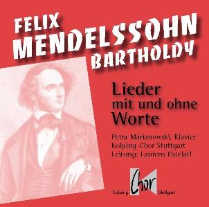 Cover CD Felix Mendelssohn Bartholdy